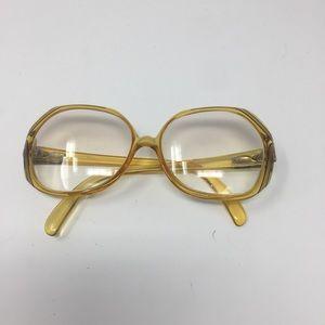 Christian Dior Vintage prescription frames gold